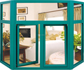 Top Quality Aluminum French Casement Glass Window