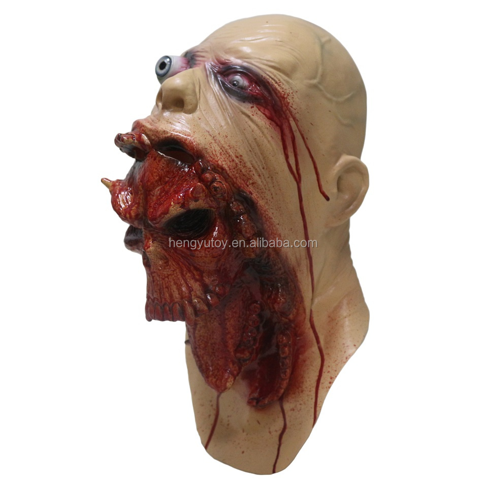 hot selling party supplies realistic movie horror Halloween props Carnival mask