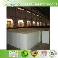 Factory supply large foam blocks for making mattress