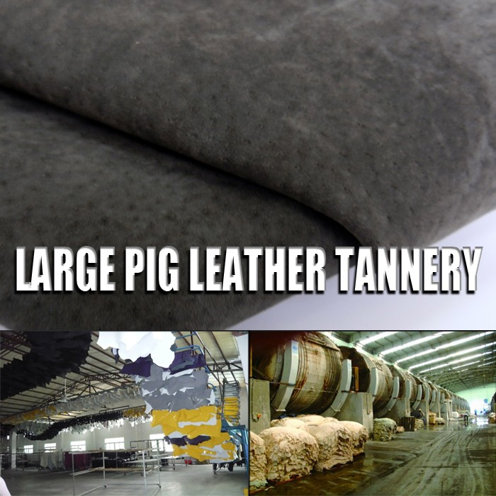 1.0 mm thick sow split garment skin hide split printed pig leather for Pig leather jackets