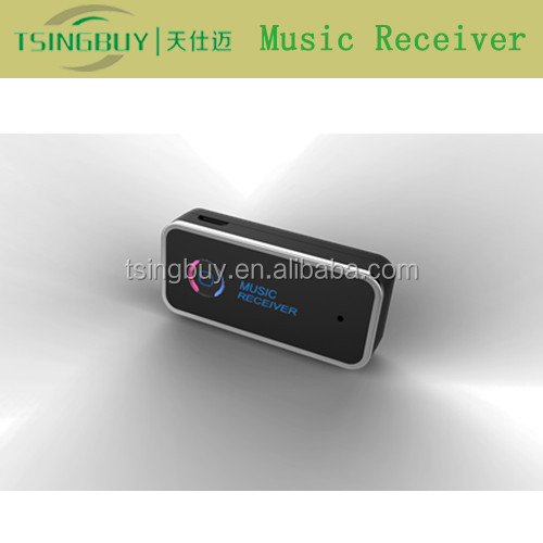 Made in China portable bluetooth 3.5mm transmitter receiver compatible with all different audio devices