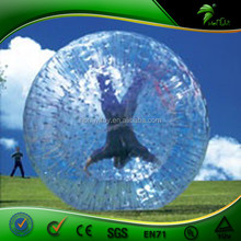 Giant cheap used inflatable human sized body zorb ball for sale