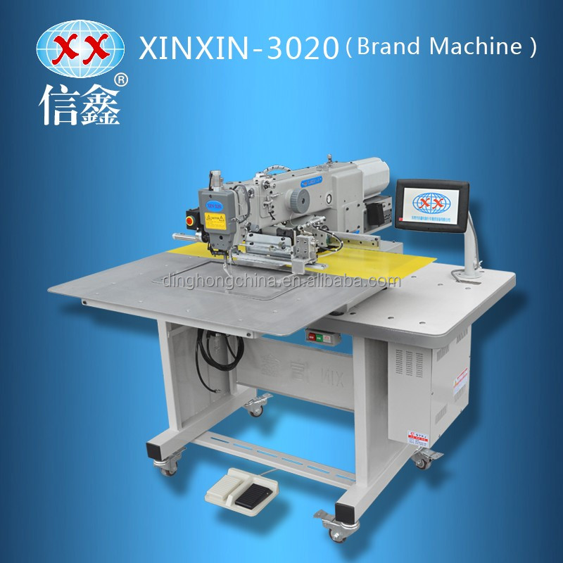 XX-3020 big double hook rotating pneumatic presser foot 750w direct drive motor sewing machine