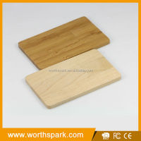 1gb wooden credit card shape usb memory stick