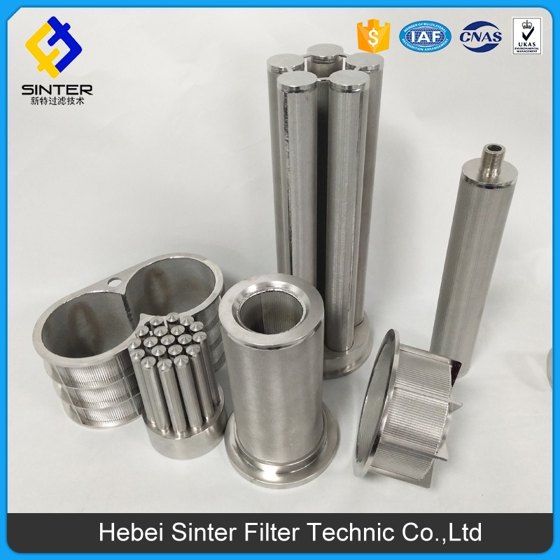 10 micron multi layer filter cylindrical cartridge applied to food & beverage & chemical industry