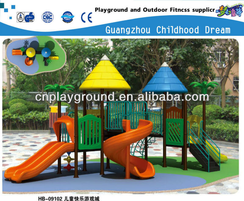 (HB-09102) KIDS FUN LAND ,CHINA 500 TOP BRAND EXCELLENT QUALITY CHILDREN PARK AND OUTDOOR PLAYGROUND TOYS toy park