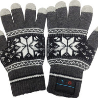 Bluetooth Gloves With Full Fingers Touch