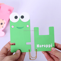 Korea style cute animals logo Silicone desktop mobile phone holder