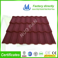 colorful stone coated galvalume steel roof tile