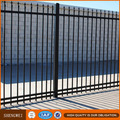 1.2-1.8m Powder coated & Hot dipped galvanized wrought iron fence