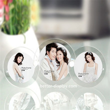 wholesale high quality clear acrylic multi picture frames