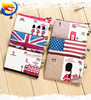 New creative canvas purse short wallet unisex british style simple wallet cheap promotional gift wallet