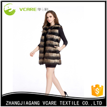 2017 New Design New Style Chinchilla Fur Coat Women