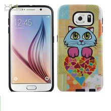 Durable latest pc tpu phone case for samsung s6