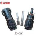 2017 hotselling 10mm2 MC4 solar connector TUV IP68,8AWG cable connector for solar panel
