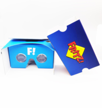 Wholesale <strong>3D</strong> Cardboard <strong>Glasses</strong> virtual reality <strong>VR</strong> <strong>3D</strong> <strong>glasses</strong> box