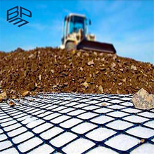 Geogrids Type and Plastic Material geogrid price concrete grid