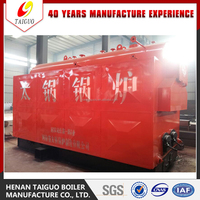 Top Suppplier! DZL Chain Grate Stoker Coal Fired Steam Boiler For Sale