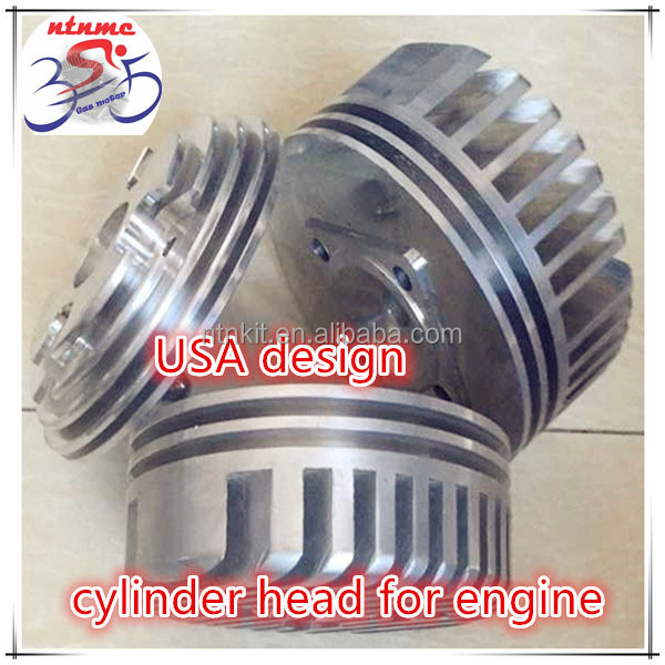 Cylinder head for Motorized Bicycle Engine/ round head cylinder