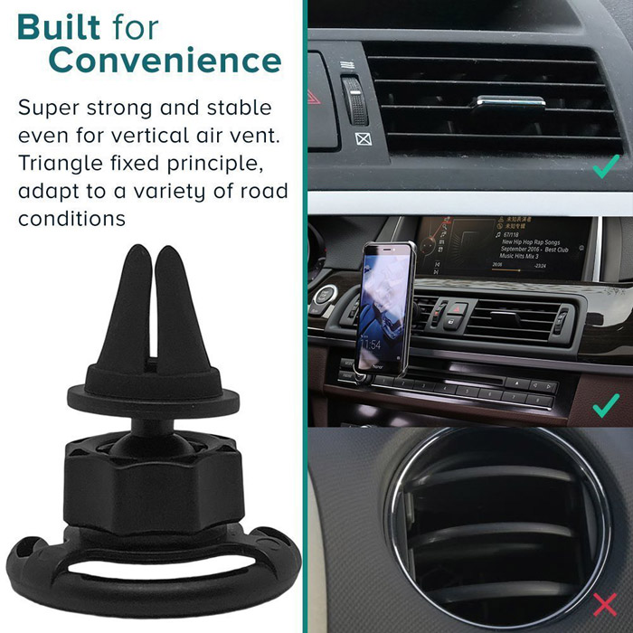 Accessori del telefono Smartphone Universale Car Air Vent Mount Supporto Del Telefono Per Auto Pop Mount