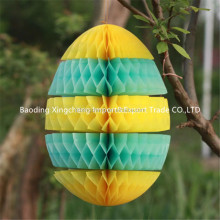 New Easter egg tissue paper lanterns Easter and wedding Decorations