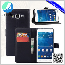 Custom mobile phone accessories flip leather cover case for samsung galaxy grand prime