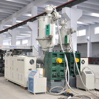 SL-600 PVC corrugated pipe production line, high speed water cooling system HDPE machine, big diameter plastic pipe machine
