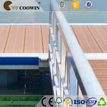 Landscape engineered solid composite decking china