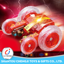 Novel best 2.4G mini remote control stunt folding fast rc car