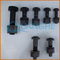 China fastener hex bolt low head
