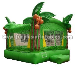 inflatable jumper,commercial bouncy castle ,green inflatable F1005