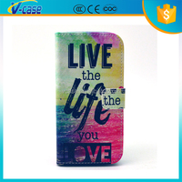 Newest Magnetic Stand Wallet TPU+Leather Flip phone Cover Case for HTC Desire 700
