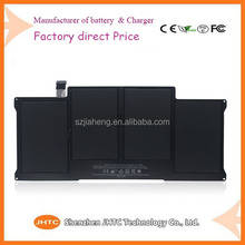 "High Quality cheap Price A1405 laptop battery for Macbook Air 13"" A1466 2012 7.3V 50Wh"
