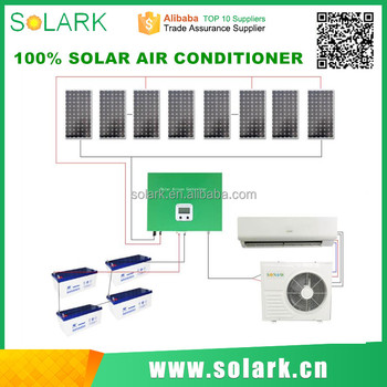 24000 BTU Cooling Capacity Off Grid Full Dc Solar Air Conditioner in nanjing