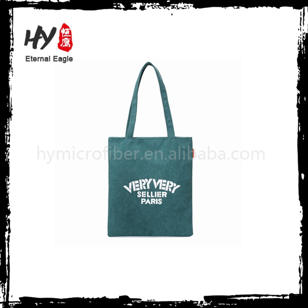 Professional cheap classical printing canvas tote bag made in China