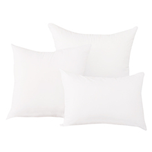 Factory wholesale price long shape bed bolster 100% polester down filling inserts pillow inner