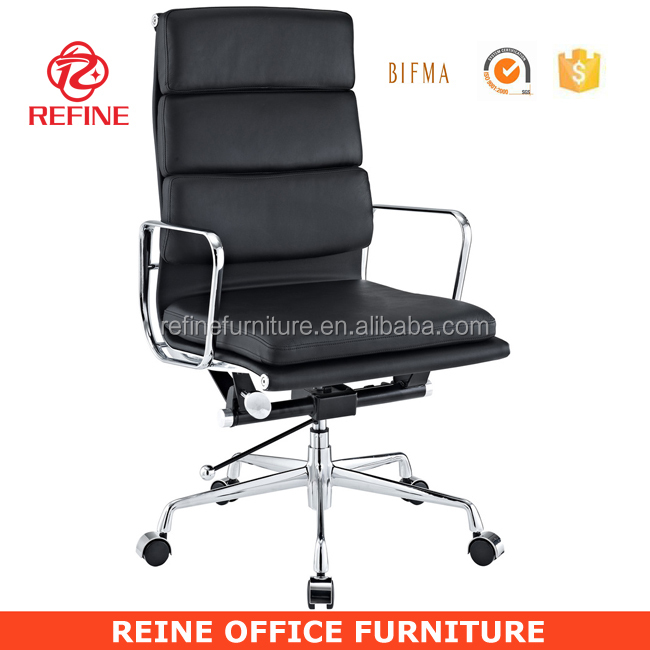 today luxus office high back black leather charles emes leather chair EA219 RF-S064