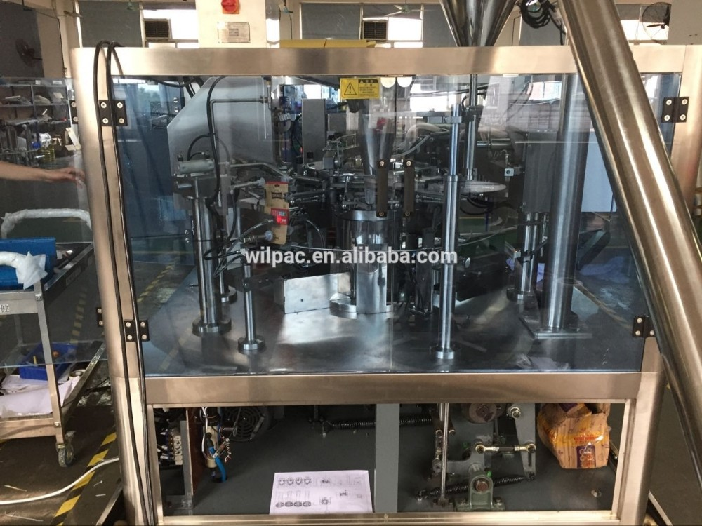 Good Price Premade Pouch Automatic Rotary Packing Machine For Fine Powder