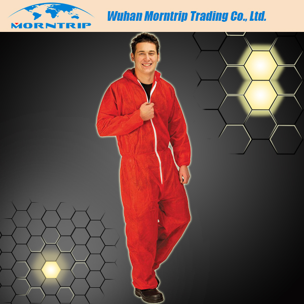 Excellent Plus Size Factory Uniform Coverall /Disposable Work Overall