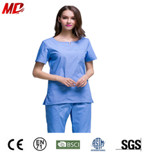 New Trendy China medical scrubs in TRS Fabric instead of TC Wholesale