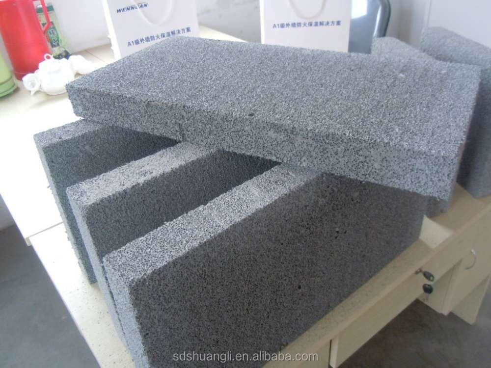 Newly developed foam cement machine foam concrete brick for Foam concrete construction