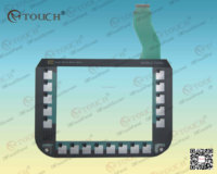 6AV6645-0EC01-0AX1 Membrane switch for Siemens MOBILE PANEL 277F IWLAN