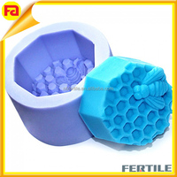 Bee Honeycomb Craft Art Silicone Soap moulds