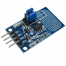 Capacitor touch dimmer constant voltage LED stepless dimming PWM control board dimming switch <strong>module</strong>