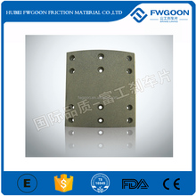 Emark Certificates Heavy Truck/Trailer/tractor Auto Brake Spare Parts Brake Lining for EQ1094