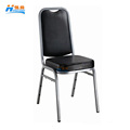 wholesale cheap price high back quality metal steel hotel banquet dining chair