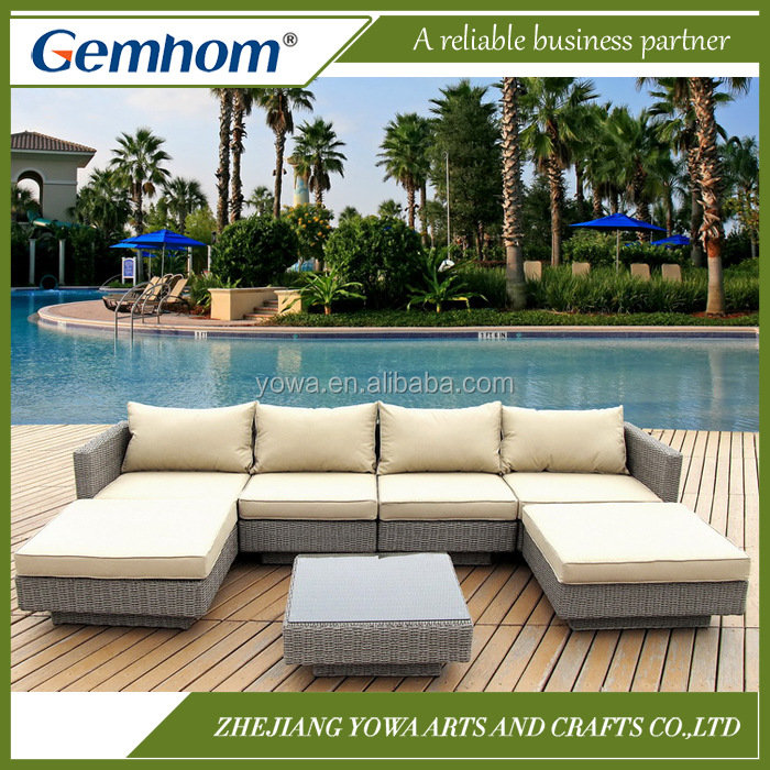 China supplier PE rattan discount garden furniture uk