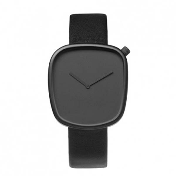 LATEST fashion square case blank dial mens leather watch branded man watch