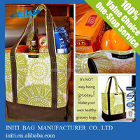 Oem Latest Design Eco-friendly useful cotton shopping bag for promotion