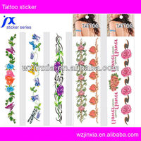 Custom En71 Non-toxic sexy body temporary tattoo sticker
